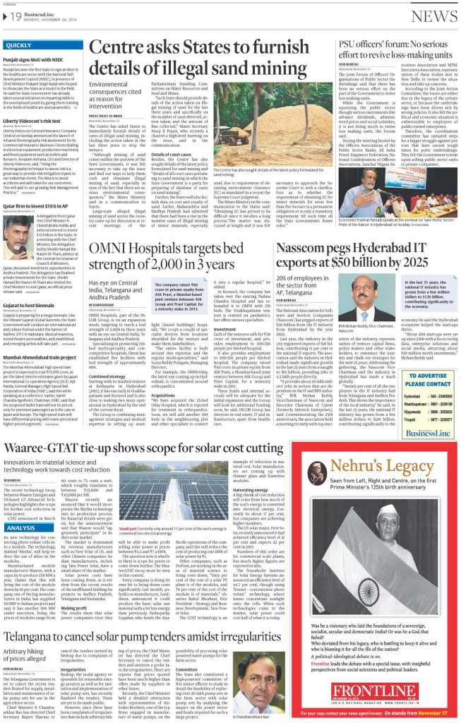OMNI Hospitals looks on an expansion into Central India, Telangana and Andhra Pradesh